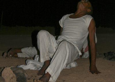 13 augustus 2009 - Diner in de woestijn, Egypte