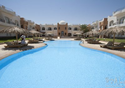 13 augustus 2011 - Resort in Dahab, Egypte