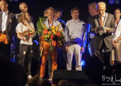 16 augustus 2012 - Huldiging Epke Zonderland in Heerenveen