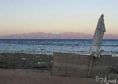 17 september 2007 - Zonsondergang in Dahab, Egypte
