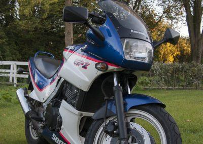 19 september 2011 - Frans zijn motor